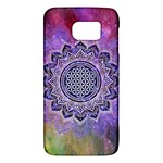 Flower Of Life Indian Ornaments Mandala Universe Galaxy S6