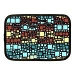 Block On Block, Aqua Netbook Case (Medium)