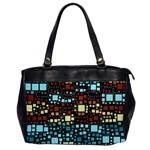 Block On Block, Aqua Office Handbags