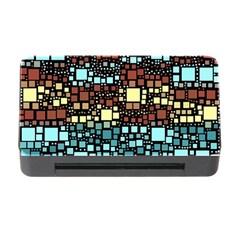 Block On Block, Aqua Memory Card Reader With Cf by MoreColorsinLife