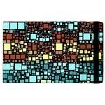 Block On Block, Aqua Apple iPad 3/4 Flip Case