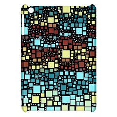 Block On Block, Aqua Apple Ipad Mini Hardshell Case by MoreColorsinLife