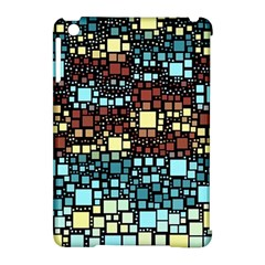Block On Block, Aqua Apple Ipad Mini Hardshell Case (compatible With Smart Cover) by MoreColorsinLife