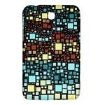 Block On Block, Aqua Samsung Galaxy Tab 3 (7 ) P3200 Hardshell Case