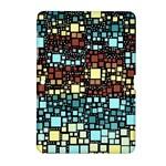 Block On Block, Aqua Samsung Galaxy Tab 2 (10.1 ) P5100 Hardshell Case