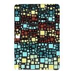 Block On Block, Aqua Samsung Galaxy Tab Pro 12.2 Hardshell Case