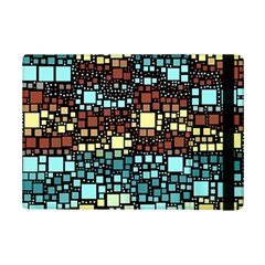 Block On Block, Aqua Ipad Mini 2 Flip Cases by MoreColorsinLife