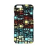 Block On Block, Aqua Apple iPhone 6/6S Hardshell Case