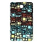 Block On Block, Aqua Samsung Galaxy Tab 4 (7 ) Hardshell Case