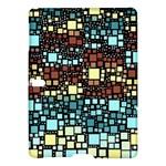 Block On Block, Aqua Samsung Galaxy Tab S (10.5 ) Hardshell Case