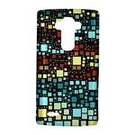 Block On Block, Aqua LG G4 Hardshell Case