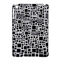 Block On Block, B&w Apple Ipad Mini Hardshell Case (compatible With Smart Cover) by MoreColorsinLife