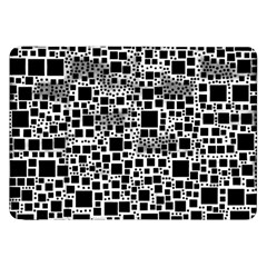 Block On Block, B&w Samsung Galaxy Tab 8 9  P7300 Flip Case by MoreColorsinLife