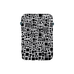 Block On Block, B&w Apple Ipad Mini Protective Soft Cases by MoreColorsinLife