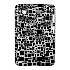 Block On Block, B&w Samsung Galaxy Tab 2 (7 ) P3100 Hardshell Case  by MoreColorsinLife