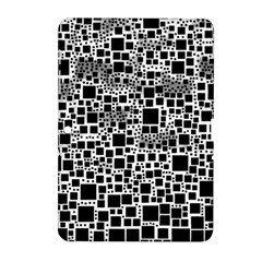 Block On Block, B&w Samsung Galaxy Tab 2 (10 1 ) P5100 Hardshell Case  by MoreColorsinLife