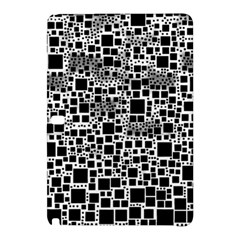 Block On Block, B&w Samsung Galaxy Tab Pro 10 1 Hardshell Case by MoreColorsinLife