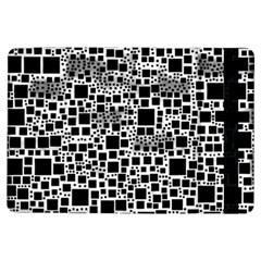 Block On Block, B&w Ipad Air Flip by MoreColorsinLife