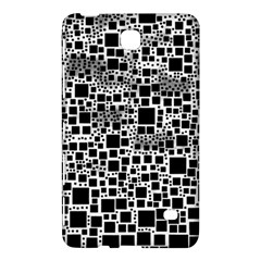 Block On Block, B&w Samsung Galaxy Tab 4 (8 ) Hardshell Case  by MoreColorsinLife