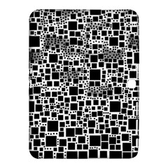 Block On Block, B&w Samsung Galaxy Tab 4 (10 1 ) Hardshell Case  by MoreColorsinLife
