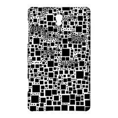 Block On Block, B&w Samsung Galaxy Tab S (8 4 ) Hardshell Case  by MoreColorsinLife
