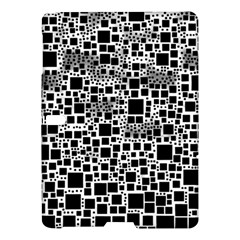 Block On Block, B&w Samsung Galaxy Tab S (10 5 ) Hardshell Case  by MoreColorsinLife