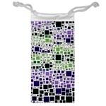 Block On Block, Purple Jewelry Bags