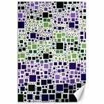 Block On Block, Purple Canvas 20  x 30