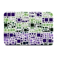 Block On Block, Purple Plate Mats by MoreColorsinLife