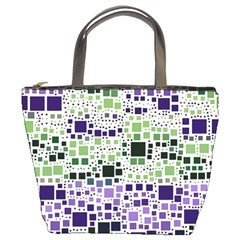 Block On Block, Purple Bucket Bags by MoreColorsinLife