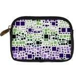Block On Block, Purple Digital Camera Cases