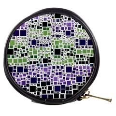Block On Block, Purple Mini Makeup Bags by MoreColorsinLife