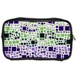Block On Block, Purple Toiletries Bags 2-Side
