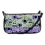 Block On Block, Purple Shoulder Clutch Bags