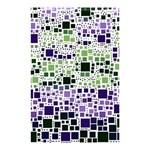 Block On Block, Purple Shower Curtain 48  x 72  (Small)