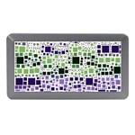 Block On Block, Purple Memory Card Reader (Mini)