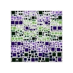 Block On Block, Purple Acrylic Tangram Puzzle (4  X 4 ) by MoreColorsinLife