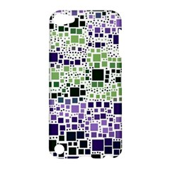Block On Block, Purple Apple Ipod Touch 5 Hardshell Case by MoreColorsinLife