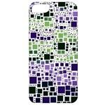 Block On Block, Purple Apple iPhone 5 Classic Hardshell Case