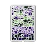 Block On Block, Purple iPad Mini 2 Enamel Coated Cases