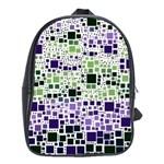 Block On Block, Purple School Bags (XL)