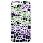 Block On Block, Purple Apple iPhone 5 Hardshell Case with Stand