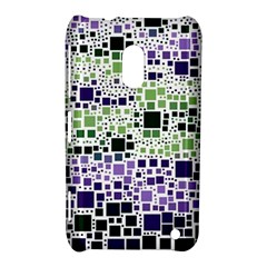 Block On Block, Purple Nokia Lumia 620 by MoreColorsinLife