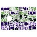 Block On Block, Purple Kindle Fire HDX Flip 360 Case