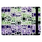 Block On Block, Purple Samsung Galaxy Tab Pro 12.2  Flip Case