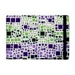 Block On Block, Purple iPad Mini 2 Flip Cases