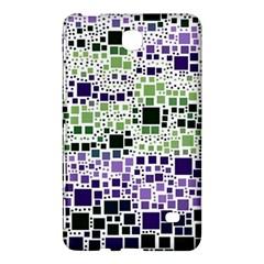 Block On Block, Purple Samsung Galaxy Tab 4 (7 ) Hardshell Case  by MoreColorsinLife
