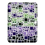 Block On Block, Purple Samsung Galaxy Tab 4 (10.1 ) Hardshell Case