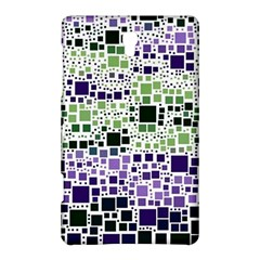 Block On Block, Purple Samsung Galaxy Tab S (8 4 ) Hardshell Case  by MoreColorsinLife