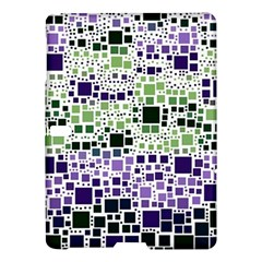 Block On Block, Purple Samsung Galaxy Tab S (10 5 ) Hardshell Case  by MoreColorsinLife